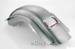 Smooth Rear Touring Fender Built in Led License Plate Harley Road King 2009-13
