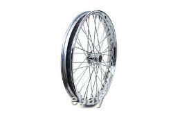Spoke Wheel Harley Front 21 x 1.85 XL FX Custom 3/4 Bearings V-Twin 52-0235 X6