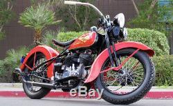 Stainless Steel 18 SPOKE SET for 1930 1936 Harley VL Front or Rear Wheel