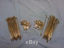 Stainless Steel Spoke Sets fit Harley Knucklehead Panhead 16