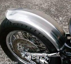 Steel Duckbill Rib Ribbed 7 (185mm) Wide Fender Harley Bobber Chopper Wassell