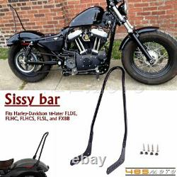 Tall Sissy Bar Passenger Backrest For Harley Slim FLSL Street Bob FXBB 2018-2020