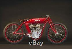 Tribute Board Track Racer Bicycle Raw drop loop Frame cafe bobber Harley Indian