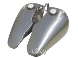 Ultima 5 Gal. Fat Bob Gas Tank For Harley Big Twin Models, 61230-69 Screw in Cap