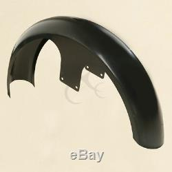 Unpainted/Painted 26 Wrap 6'' Front Fender For Harley Touring Road Glide Bagger