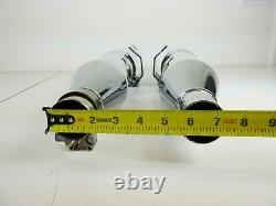 Vance And Hines Harley 96-16 Touring 4.5 Hi-Output Slip-On Exhaust Mufflers
