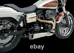 Vance & Hines 2-1 Competition Stainless Steel Exhaust 06-17 Harley Dyna FXDB