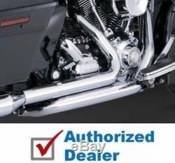 Vance & Hines Dresser Duals Exhaust Headers Pipes 2009-2016 Harley Touring 16752