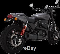 Vance & Hines Matte Black Hi Output Exhaust Muffler for 15-18 Harley XG Street