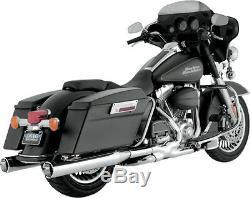Vance & Hines Monster 4 Exhaust Mufflers Harley Electra Glide Road King Street