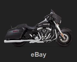 Vance & Hines Oversized 450 4.5 Exhaust mufflers 95-16 Harley Touring Dresser