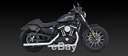 Vance & Hines Straightshots slip on mufflers Harley Davidson Sportster 2014