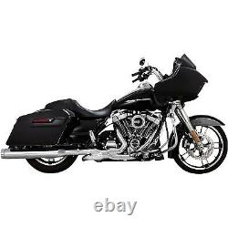 Vance & Hines Torquer 450 Slip-On Mufflers for Harley M8 Touring 17-20 50 State