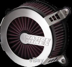 Vance & Hines V02 Cage Fighter Air Cleaner Filter 18-19 Harley Softail FLFB FXBR