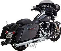 Vance&hines 4.5 Over-size Exhaust Mufflers Harley Electra Glide Road King Street