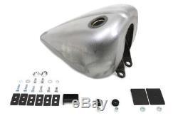 Wyatt Gatling Ribbed Bobbed Gas Fuel Tank Harley Softail Shovelhead Custom FX